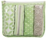 Tomy Trend Lab 5 Pack Burp Cloth Gift Set - Lauren