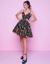 Mac Duggal Homecoming - 30495N Colorful Floral Short Dress