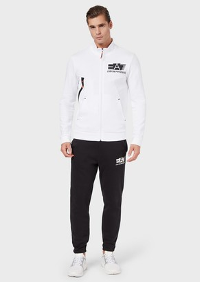 Emporio Armani Cotton Jersey-Fleece Tracksuit