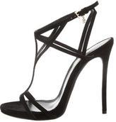 DSQUARED2 Suede Multistrap Sandals