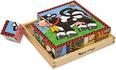 Melissa & Doug Kids Toy, Farm Cube Puzzle