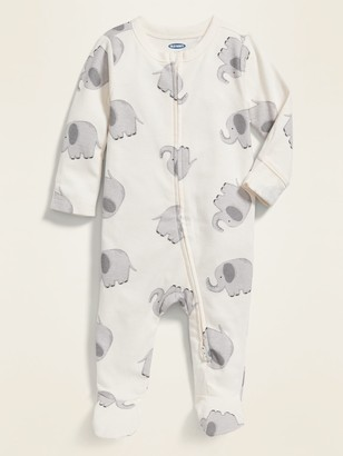Old Navy Printed Footed One-Piece for Baby