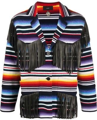Alanui Sarape fringed blazer