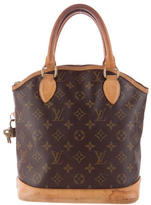 Louis Vuitton Monogram Lockit Vertical Tote