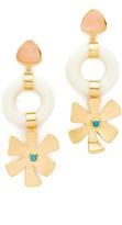 Lizzie Fortunato Lotus Earrings