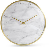 Marks and Spencer Marble Print Wall Clock