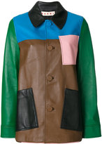 Marni colourblock jacket