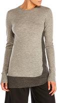 Sharon Wauchob Color Block Wool Tunic Sweater