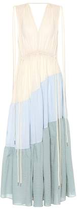 Lee Mathews Cotton maxi dress