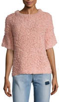 Plenty by Tracy Reese Boucle Mock Neck Sweater