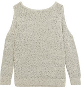 Tart Collections Muriel Cold-Shoulder Cotton-Blend Sweater