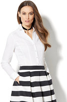 New York & Co. 7th Avenue Design Studio - Madison Stretch Shirt - Petite