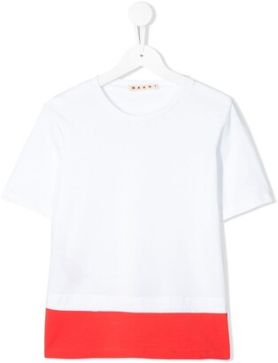 Marni colour block T-shirt