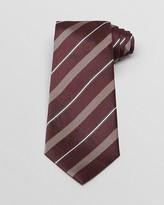 Armani Collezioni Woven Contrast Stripe Classic Tie