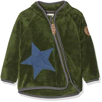 Heine Racoon Baby Boys' Teddyfleecejacke Jacket