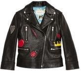 Gucci Girl's Leather Jacket