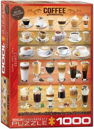 Eurographics Coffee 1000-Piece Jigsaw Puzzle Set