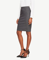 Ann Taylor Curvy Textured Pencil Skirt
