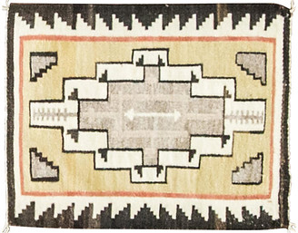 "One Kings Lane Vintage 1'9"" x 2'2"" Navajo Rug - Eli Peer Oriental Rugs"