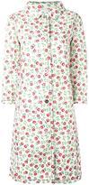 Prada floral print coat