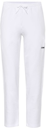 Vetements Stretch-cotton trackpants