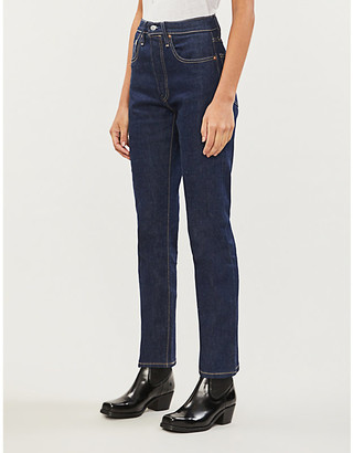 Levi's Made & Crafted 501 Cropped Slim High-Rise Jeans