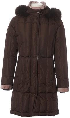 Fay Brown Raccoon Coat for Women
