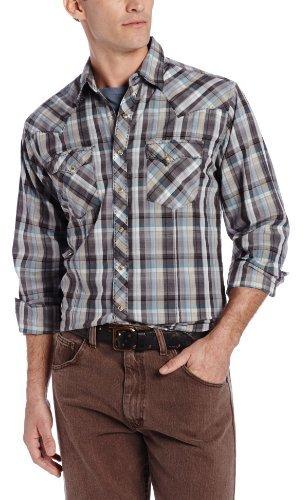 Wrangler Men's Wfs Fashion Snap Shirt