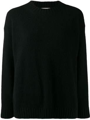 Laneus knitted crew-neck jumper