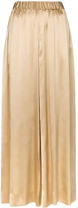 Deitas elasticated-waist wide-leg trousers