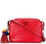 Dolce & Gabbana pom-pom zip shoulder bag