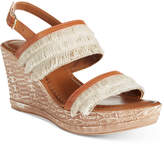 Easy Street Shoes Tuscany by Zaira Wedge Sandals Women's Shoes