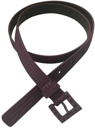 Bottega Veneta Purple Leather Belts