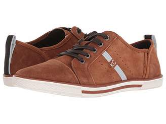 Kenneth Cole Reaction Center Low (Tobacco Suede) Men's Lace up casual Shoes