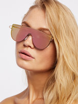 Free People Silk City Shield Sunnies
