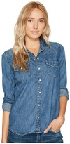 Lucky Brand Classic Western Shirt Women's Clothing
