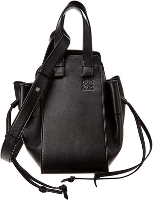 Loewe Hammock Drawstring Small Leather Shoulder Bag