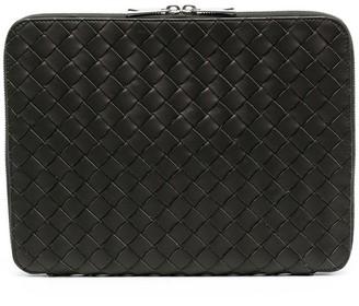 Bottega Veneta Intreacciato zip-around laptop case