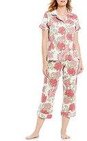 BedHead Mum's Floral Cropped Pajamas