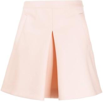 Lanvin High-Waisted Mini Skirt
