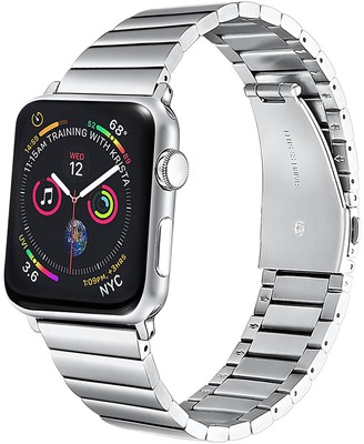 Posh Tech Stainless Steel 42mm/44mm Band for Apple Watch with Removable Links for Apple Watch Series 1, 2,3, 4, 5