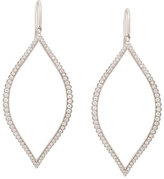 Jamie Wolf Diamond Marquis Leaf Drop Earrings