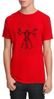 Marvel Vitruvian Deadpool Mens T-Shirt | XL