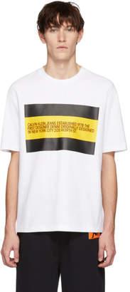 Calvin Klein Jeans Est. 1978 White Est. 1978 Patch T-Shirt