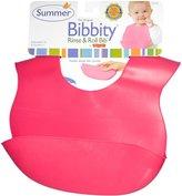 Kiddopotamus Bornfree/Summer Infant Summer Infant, Bibbity, Rinse & Roll Bib, 8 Months+, - Pack