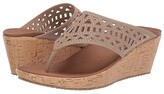 Skechers Beverlee - Summer Visit (Taupe) Women's Sandals