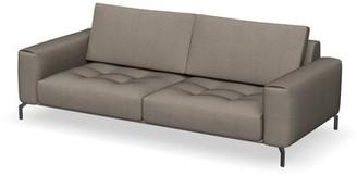 "Calligaris Vegas 92.88"" Wide Square Arm Modular Sofa Leg Color: Matte Gray"