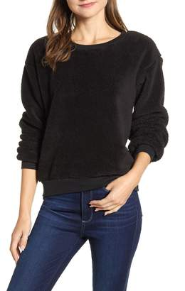 Caslon Cozy Fleece Sweatshirt