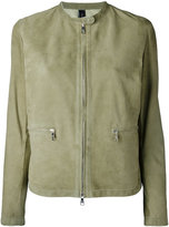 Giorgio Brato zipped jacket - women - Leather/Suede - 42
