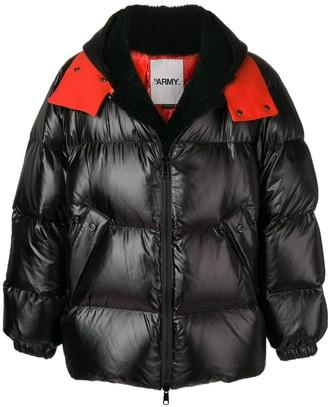 Yves Salomon Army oversized shearling down jacket